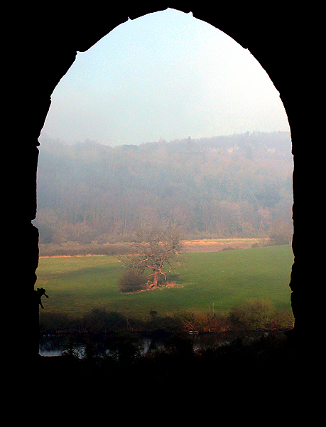 Through the Castle Arch: Chepstow