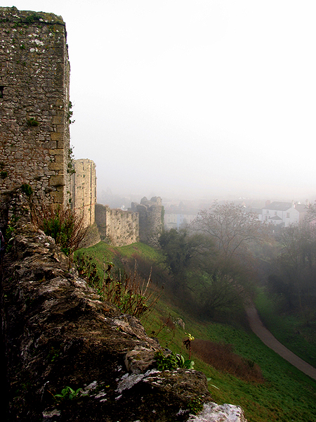 Chepstow Castle: South Side