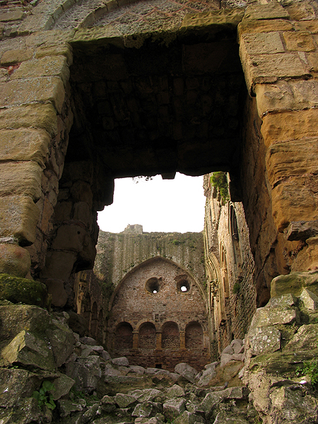 The Great Hall: Chepstow Castle