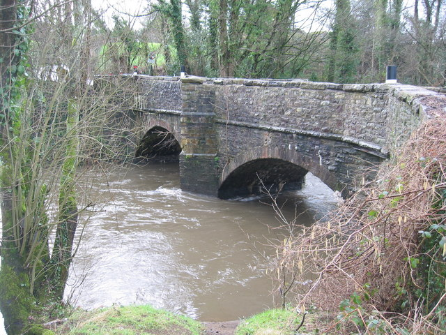 Bridge over the River Rhymney