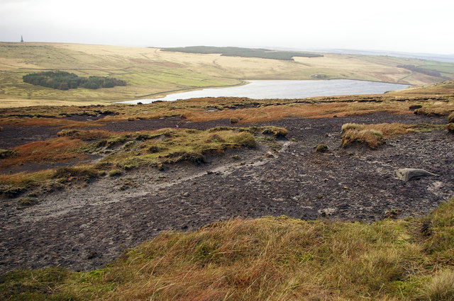 Withens Moor and Withen Clough Reservoir