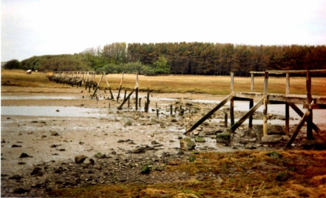 The Bridge Washed Away