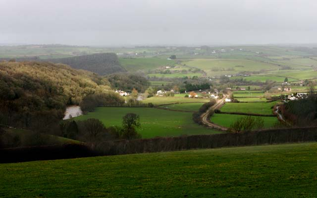 Umberleigh Village in Taw Valley