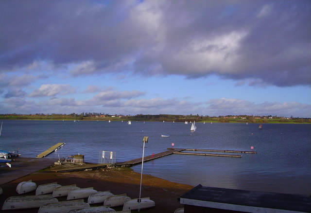 View of Draycote Water from new Visitor Centre