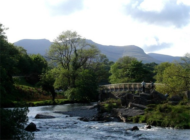 Bridge over the River Glaslyn