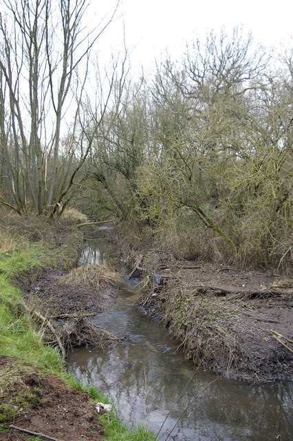 The Bourn Brook, Woodgate Valley Country Park