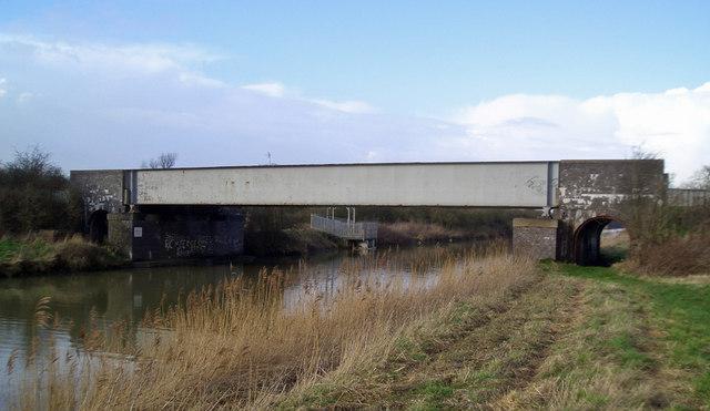 Rail Bridge over the New River Ancholme