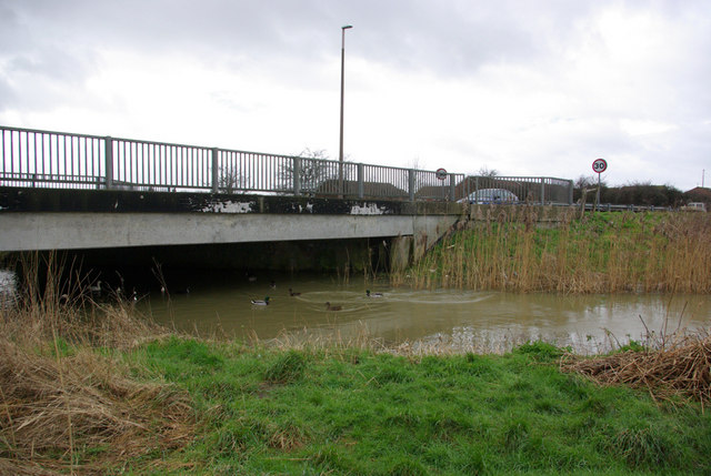 Bridge over Aldingbourne Rife
