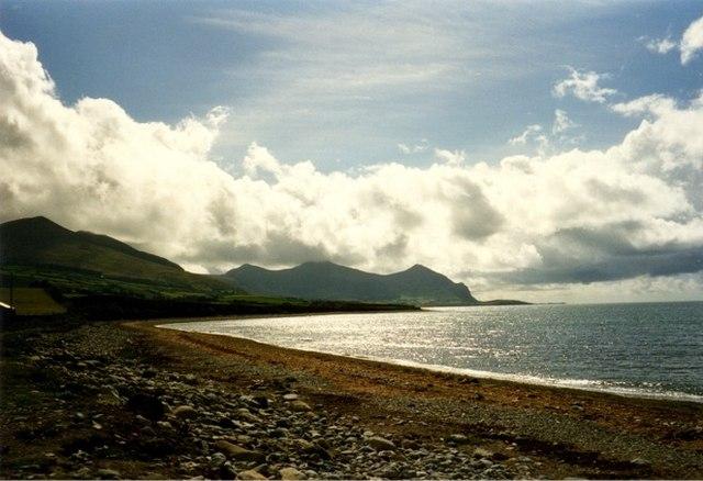 Beach at Aberdesach