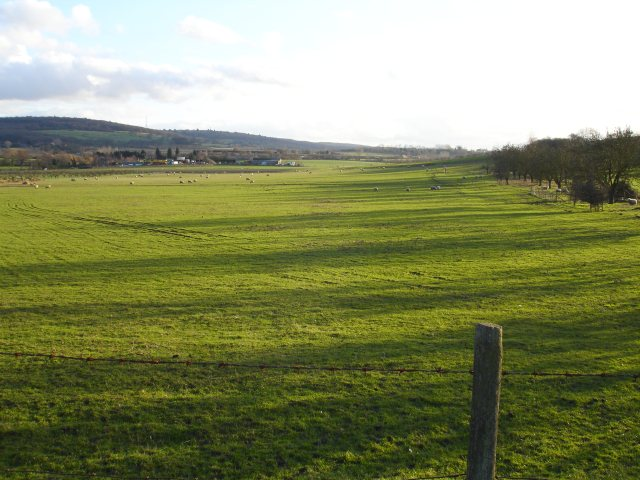 View south from Monkshill