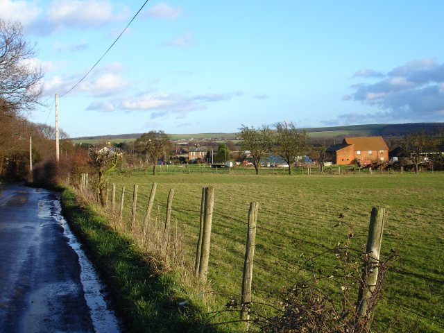 Waterham Farm from Monkshill Road