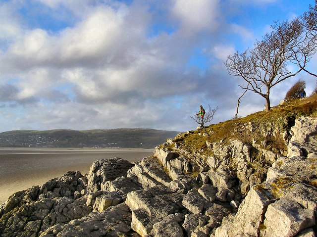 Arnside Park meets the sea