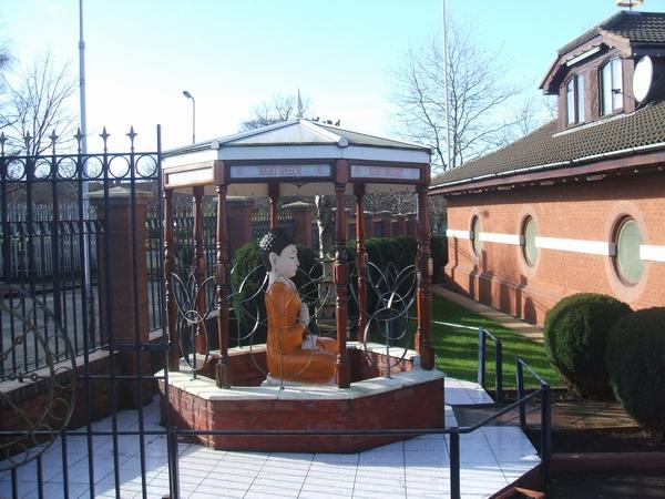 Shrine outside the Buddha Vihara