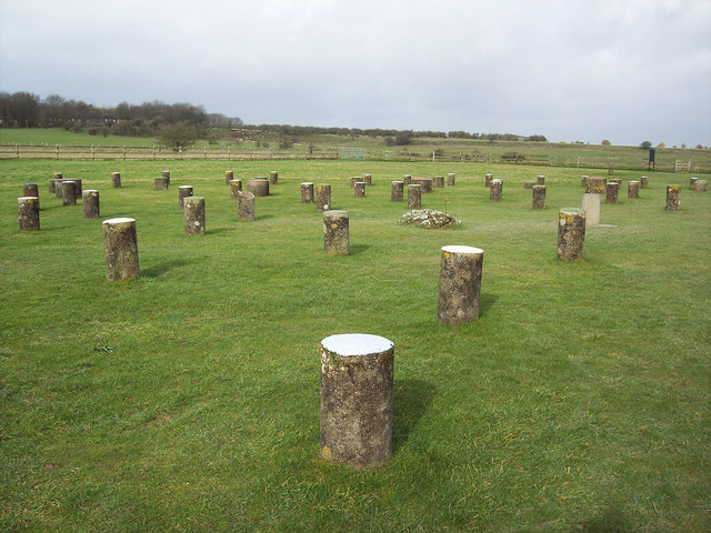 Woodhenge near Durrington