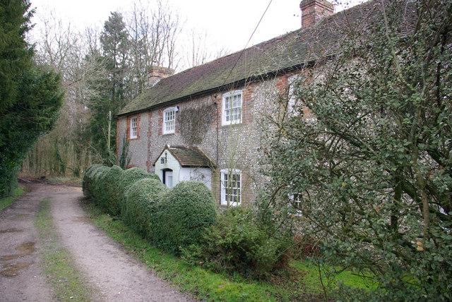 Cottage by Bridleway