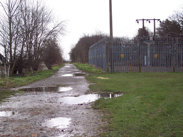 Bridleway to King Barrow from Fargo Road