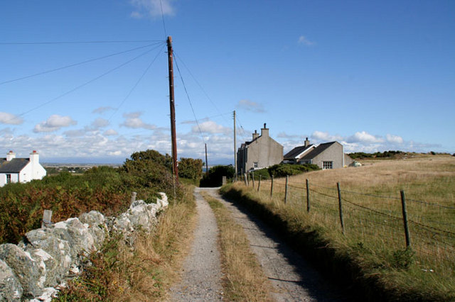 The Lane to Tywrideen