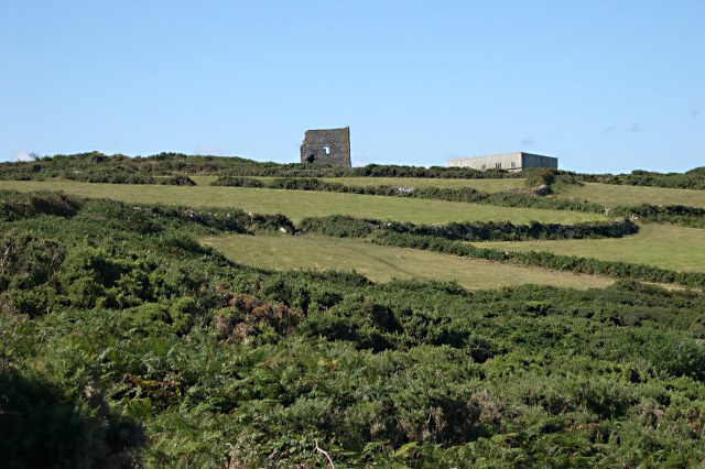 Disused Mine from the Coast Path