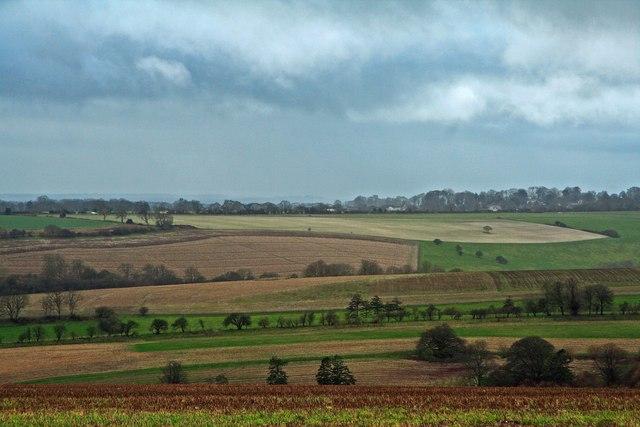 View across Ashcombe Bottom