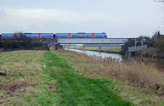 Rail Bridge over the New River Ancholme