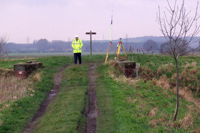GPS Survey at Weir Dyke Bridge