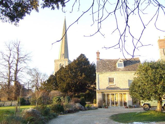 St Peter and St Paul, Church Hanborough