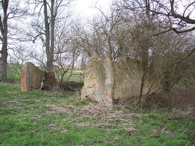 Remains of Lake Wellhouse