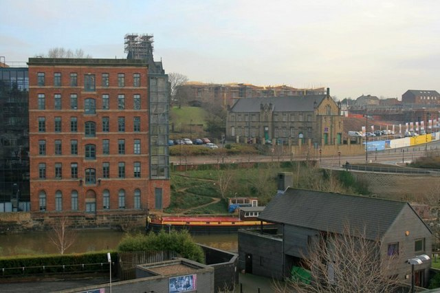 View Across the Aire From the Armouries Car Park