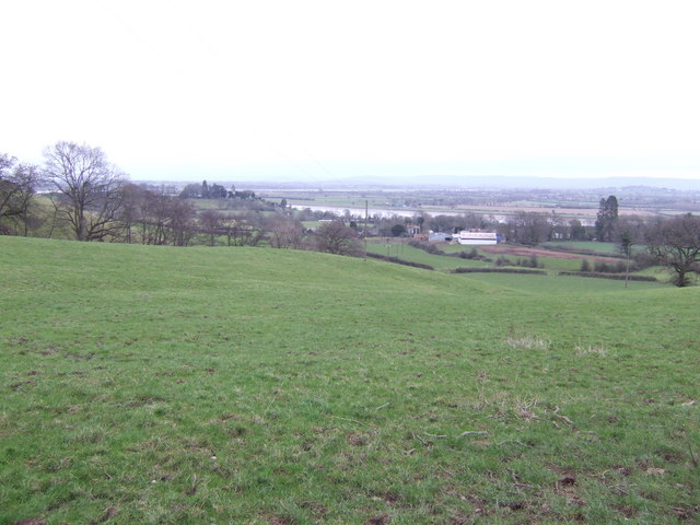 View over Newnham and the River Severn