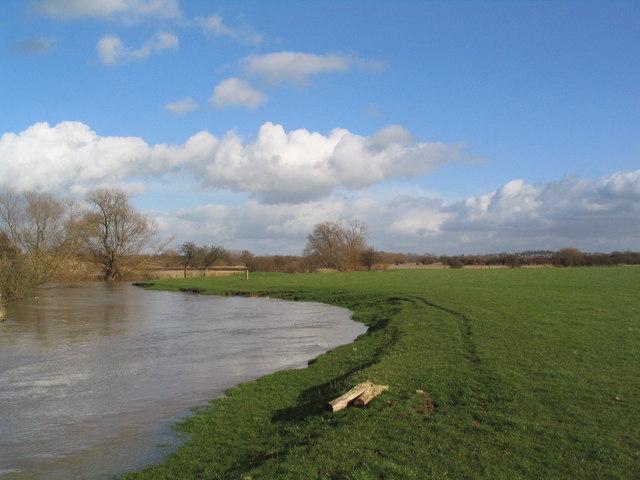 River Wreake near Kirby Bellars