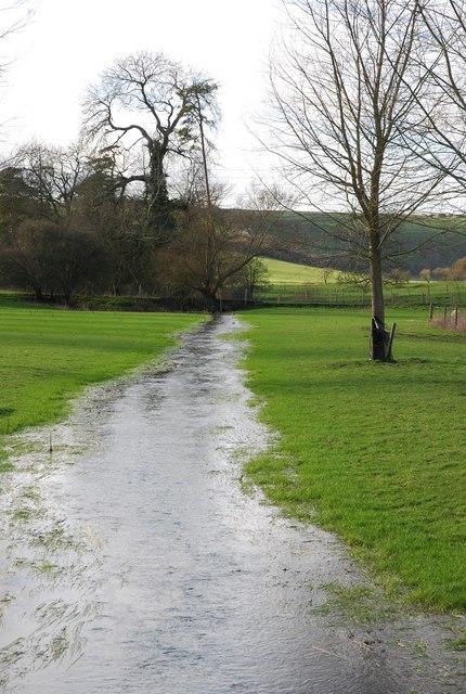 Stream crossing Norrington Farm