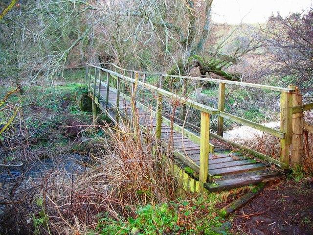 Footbridge on the Papana Water