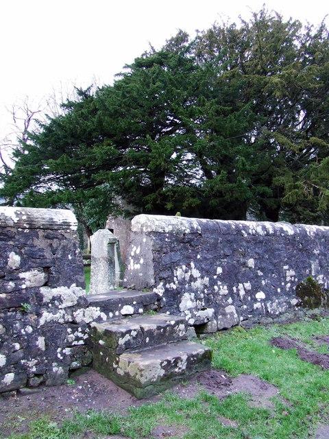 Graveyard stile