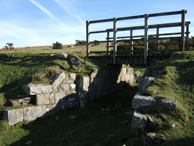 Bridge on disused Princetown Railway