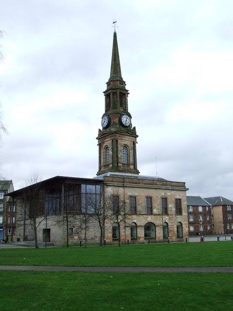 Town Building Port Glasgow
