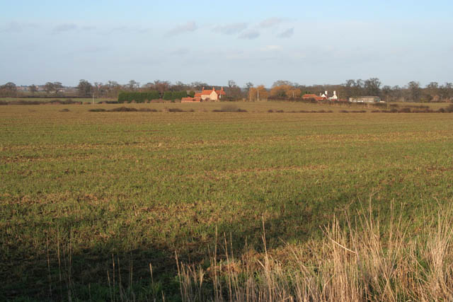 Farmland near Aunsby