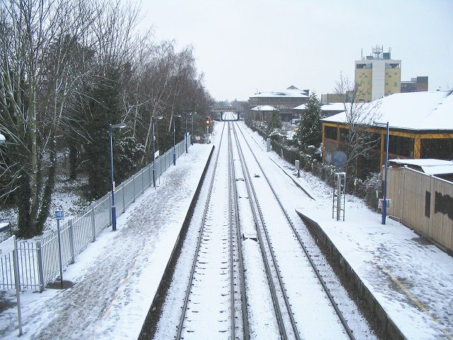 Railway through Teddington
