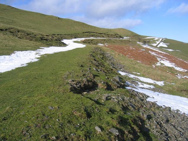 Track East of Moel Llanfair