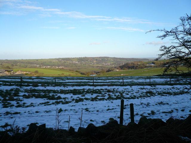 Wirestone Lane view of Eddlestow Hall Farm