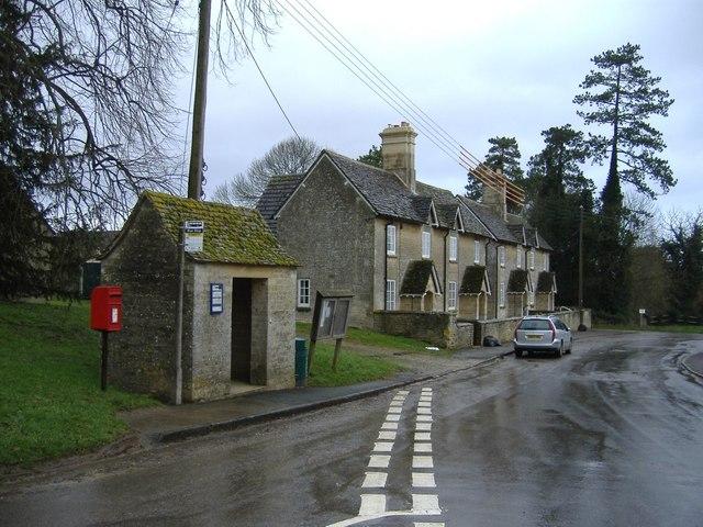 The bus shelter, Rodmarton