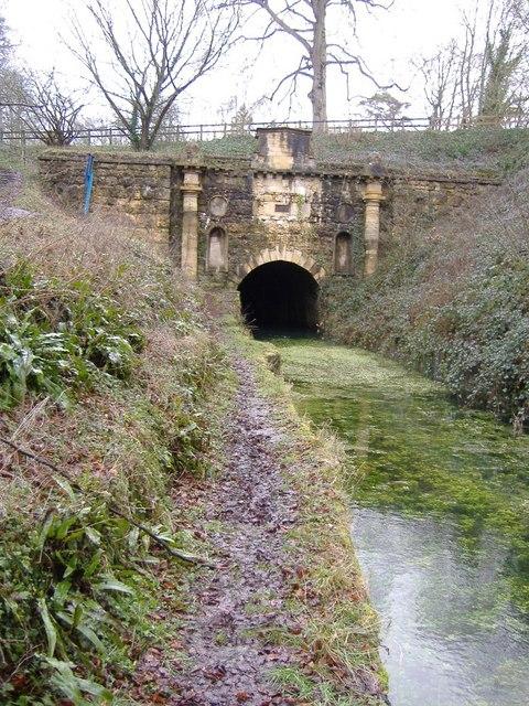 Sapperton tunnel in winter