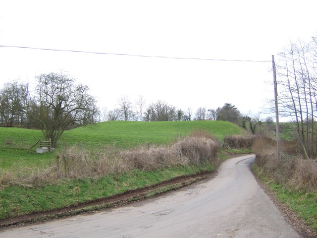 Castle mound at Dingestow