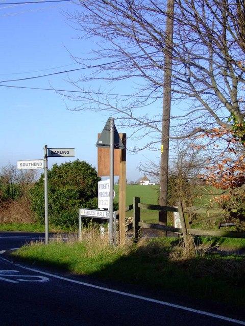 Barrow Hall junction