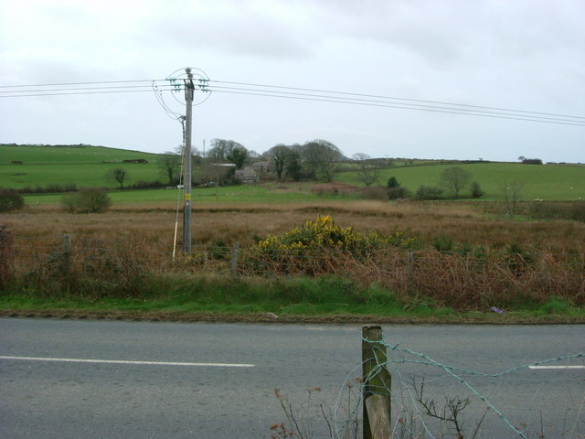 Overlooking Penhyddgan on the A497