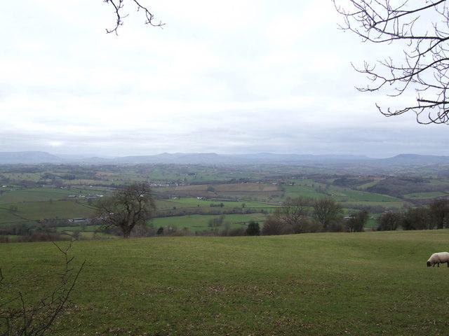 Craig-y-dorth; view due west