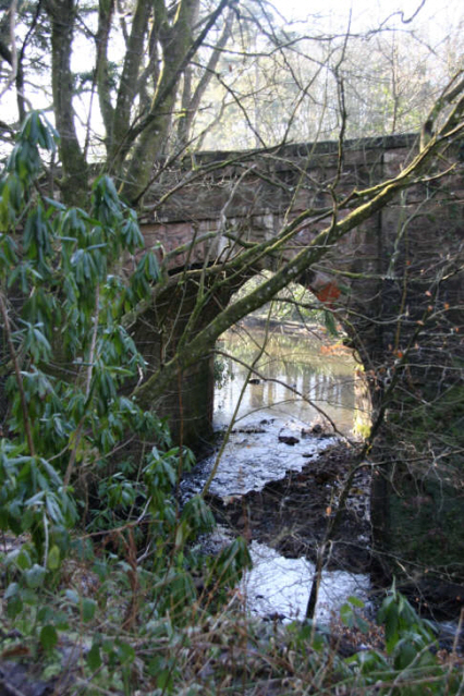 Cleuch Burn  Road Bridge, Sorn
