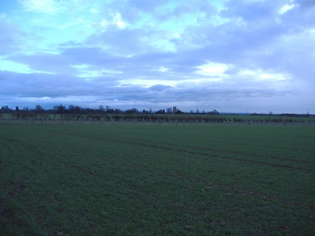 Arable field, north of Coates