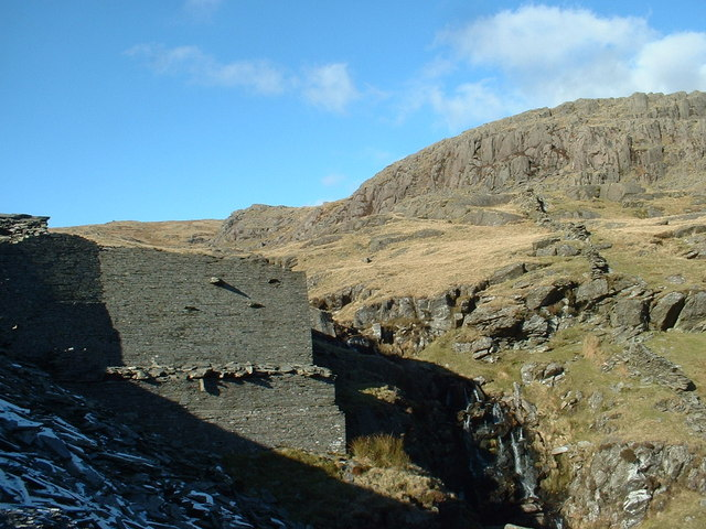 Rhosydd Quarry buildings