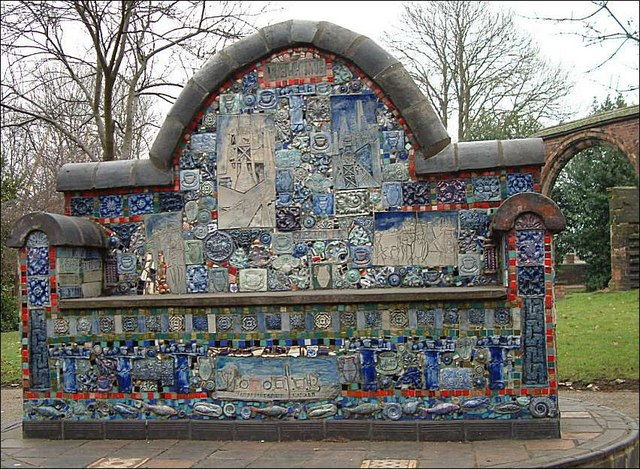 St. Peter's community mosaic at Stoke