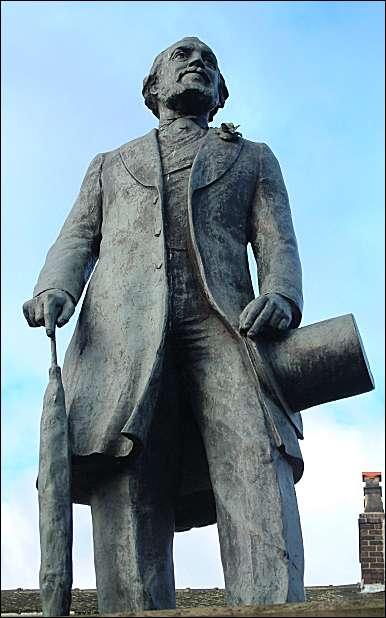 Sir Henry Doulton (1820-1897) at Burslem